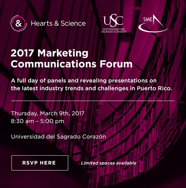 2017 Marketing Communication Forum