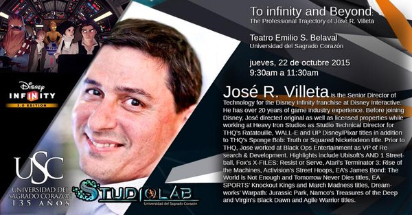«To Infinity and Beyond» José Villeta
