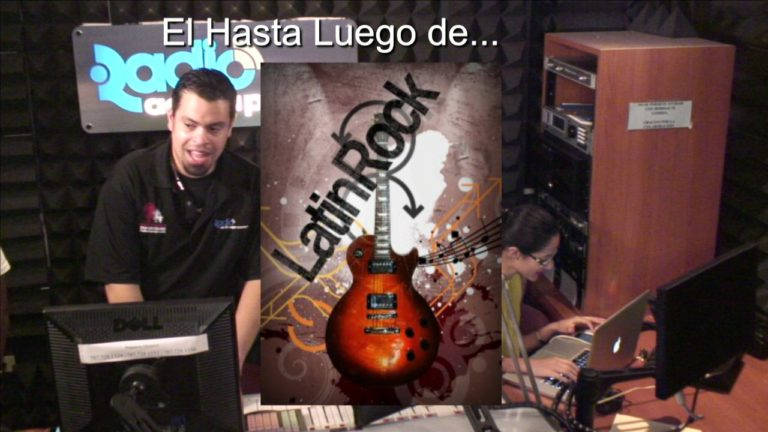 Despedida del Programa Latin Rock