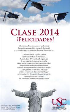Graduación USC 2014